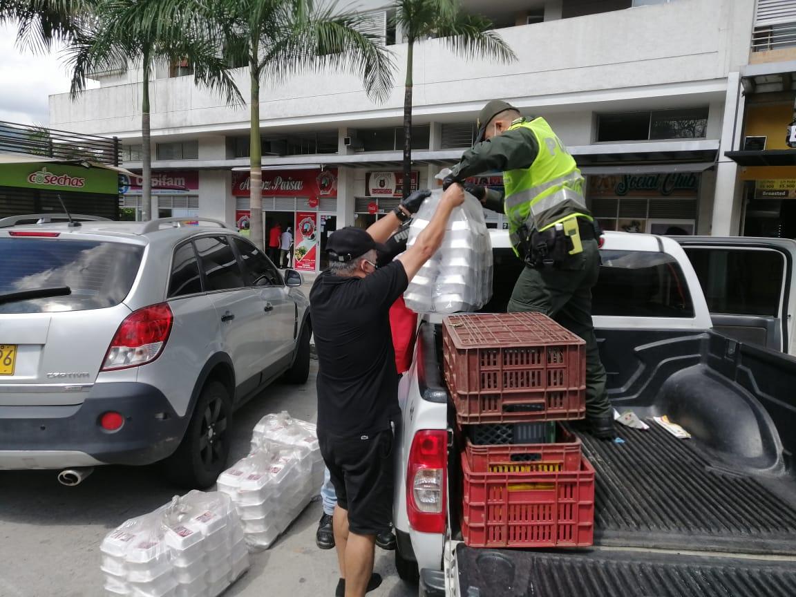 Empresario ibaguereño donó 1.000 almuerzos para personas en estado de vulnerabilidad