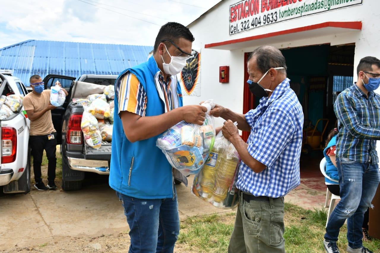 2.598 kits nutricionales entrega la Gobernación del Tolima en Planadas