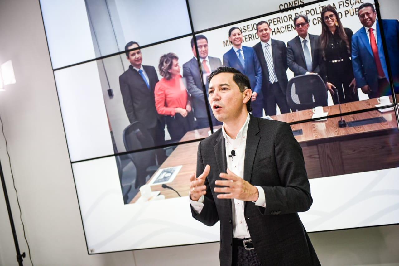 Alcalde Andrés Hurtado presentó balance de sus primeros 100 días de gestión