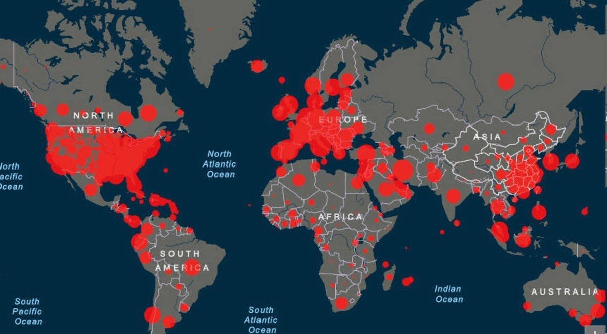 Este sábado el mundo llegó a las 200 mil muertes por Coronavirus