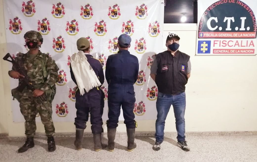 Detenidos por aprovechamiento ilícito de recursos naturales