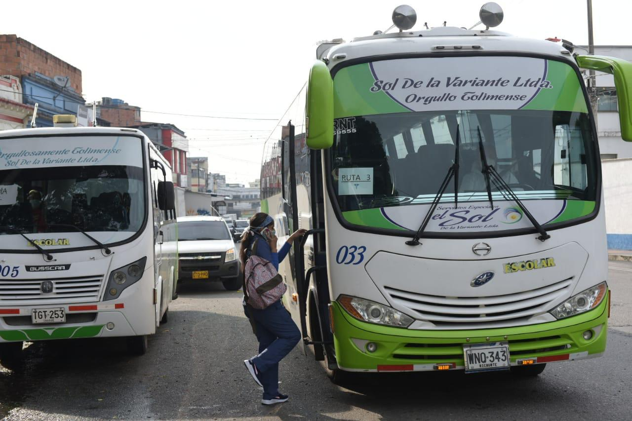 Alcaldía mantendrá rutas exclusivas para el personal médico y asistencial de Ibagué