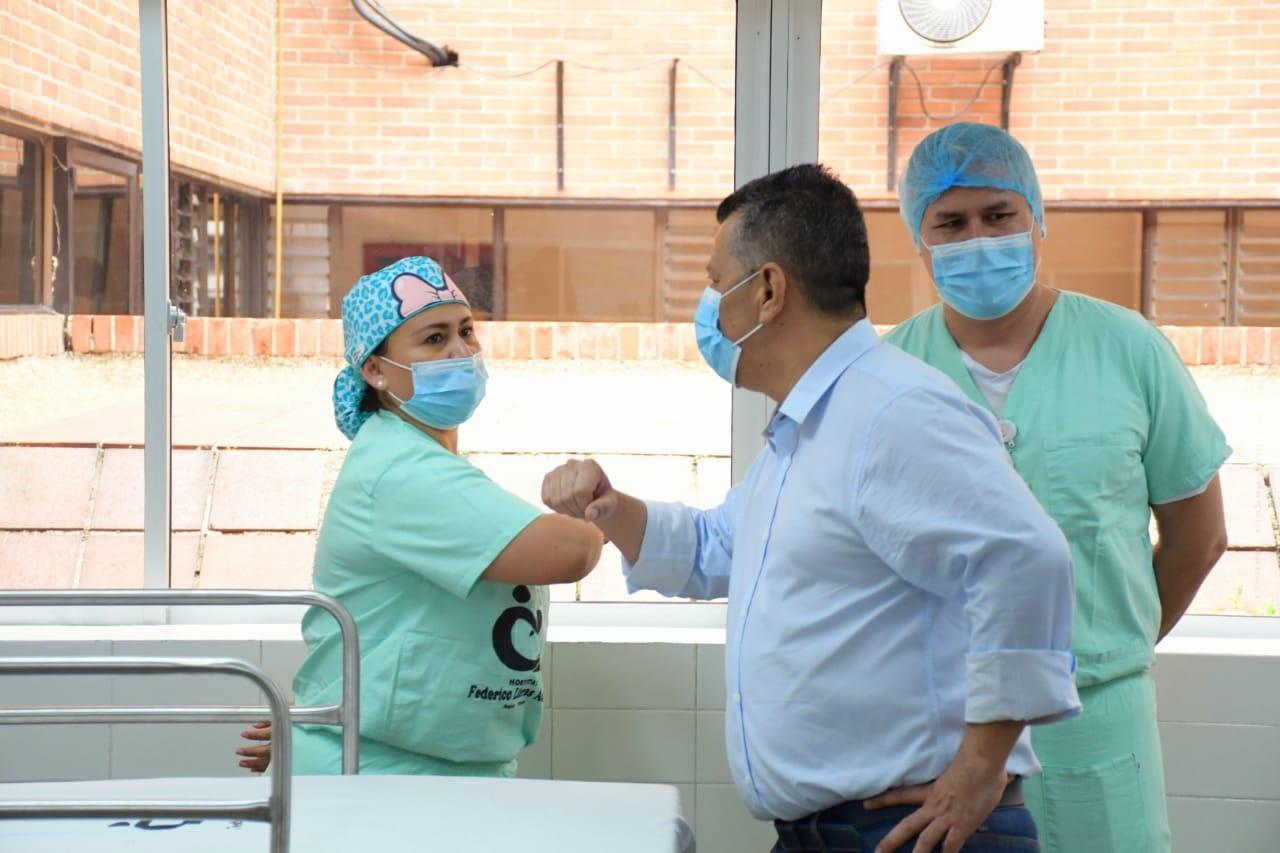 """""""Ahora sigue el Laboratorio de Salud Pública"""": Gobernador del Tolima"""