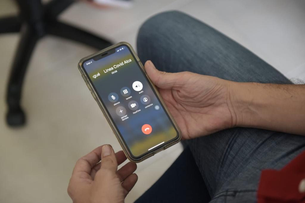 Más de 2.500 llamadas han sido atendidas a través de la Línea Covid-19
