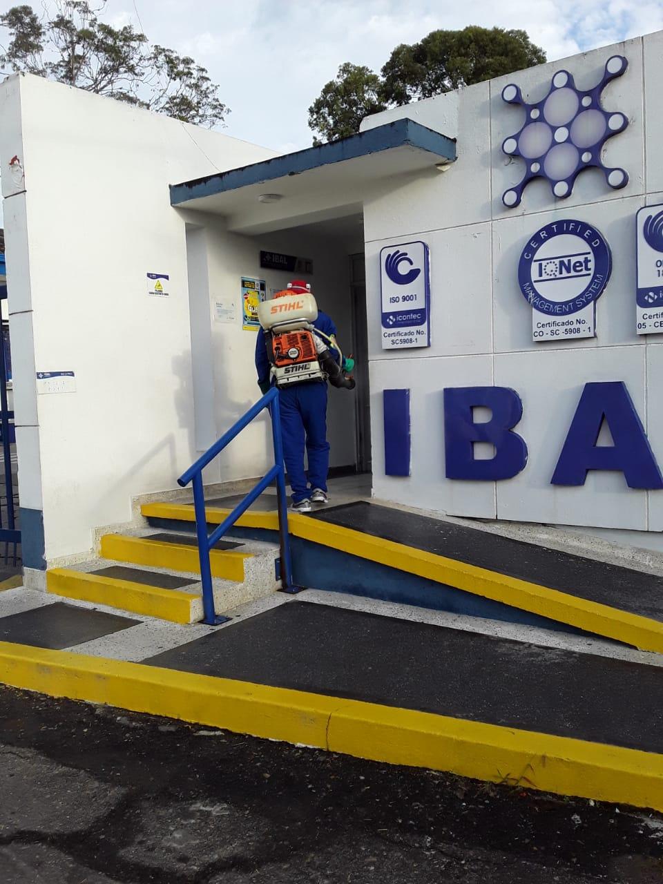 Ibal fortalece protocolos de bioseguridad en sus instalaciones