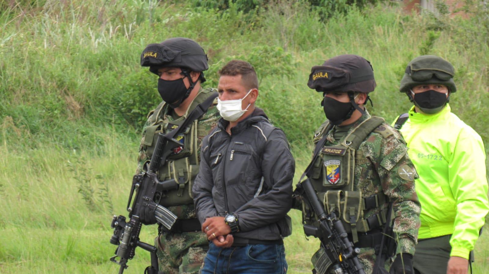 Cayó el hombre de confianza de alias 'Raúl', cabecilla de organización criminal