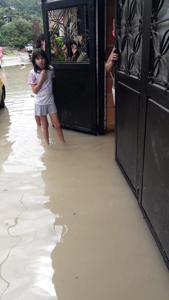 Cinco barrios con afectaciones por aguacero de este viernes en Ibagué