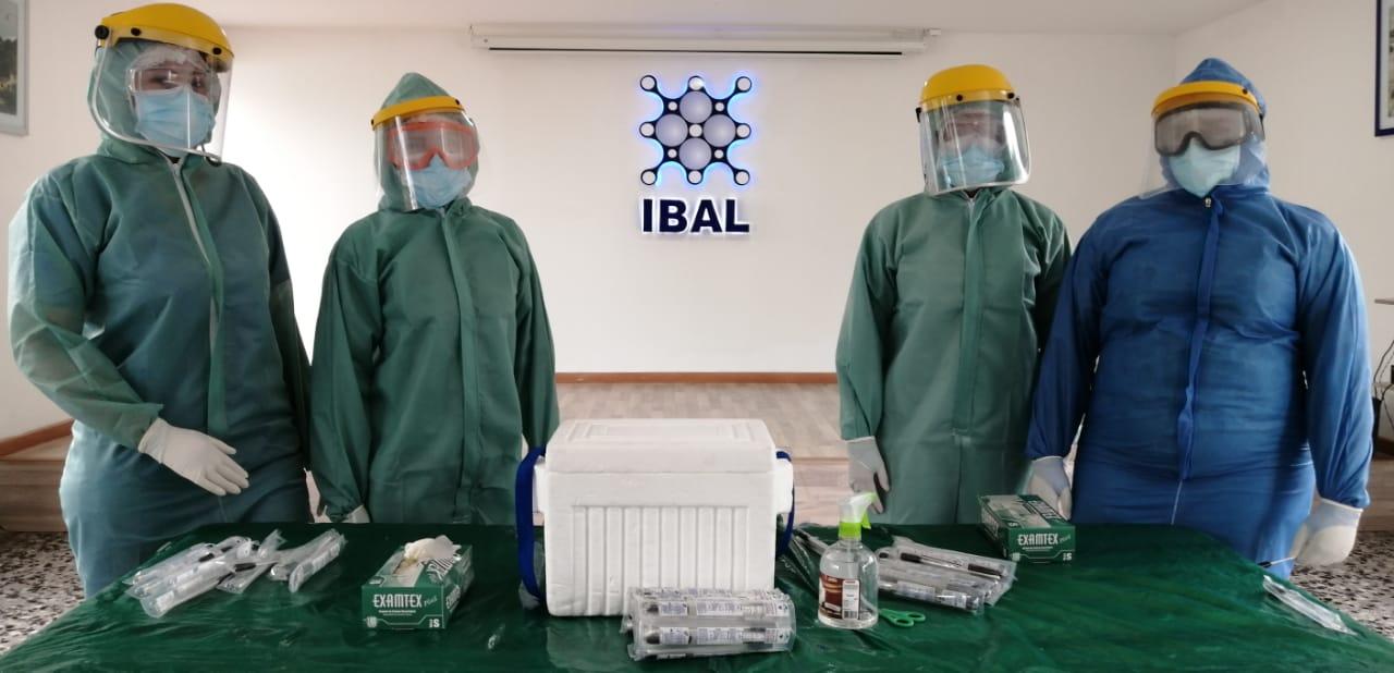 Control total al foco de contagio de Covid-19 en el Ibal