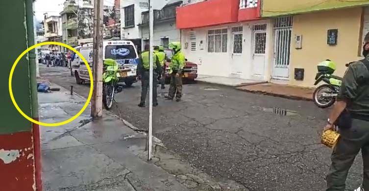Identificado el hombre asesinado por sicarios en pleno Centro de Ibagué
