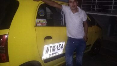 Taxista salvó a joven que se lanzó por un barranco