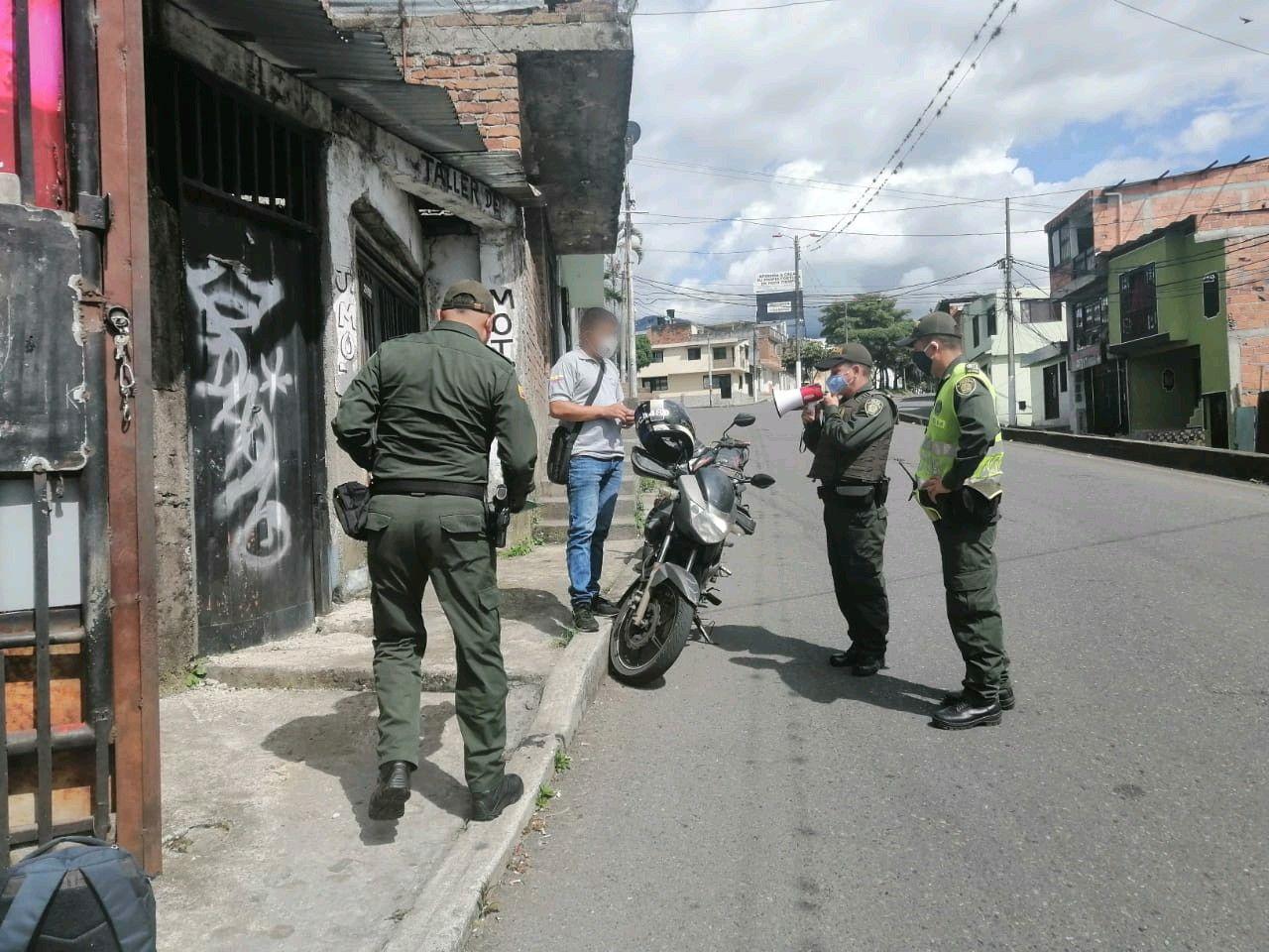 Policía de Ibagué ha impuesto 6.130 comparendos a personas durante toda la 'cuarentena'
