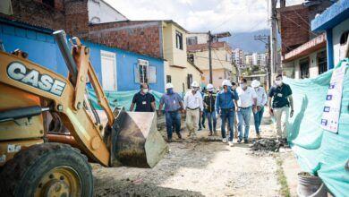 Inician obras de pavimentación en el barrio San Luis de Ibagué