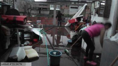 Fotos: Volaron los techos por tormenta y vendaval en el norte del Tolima