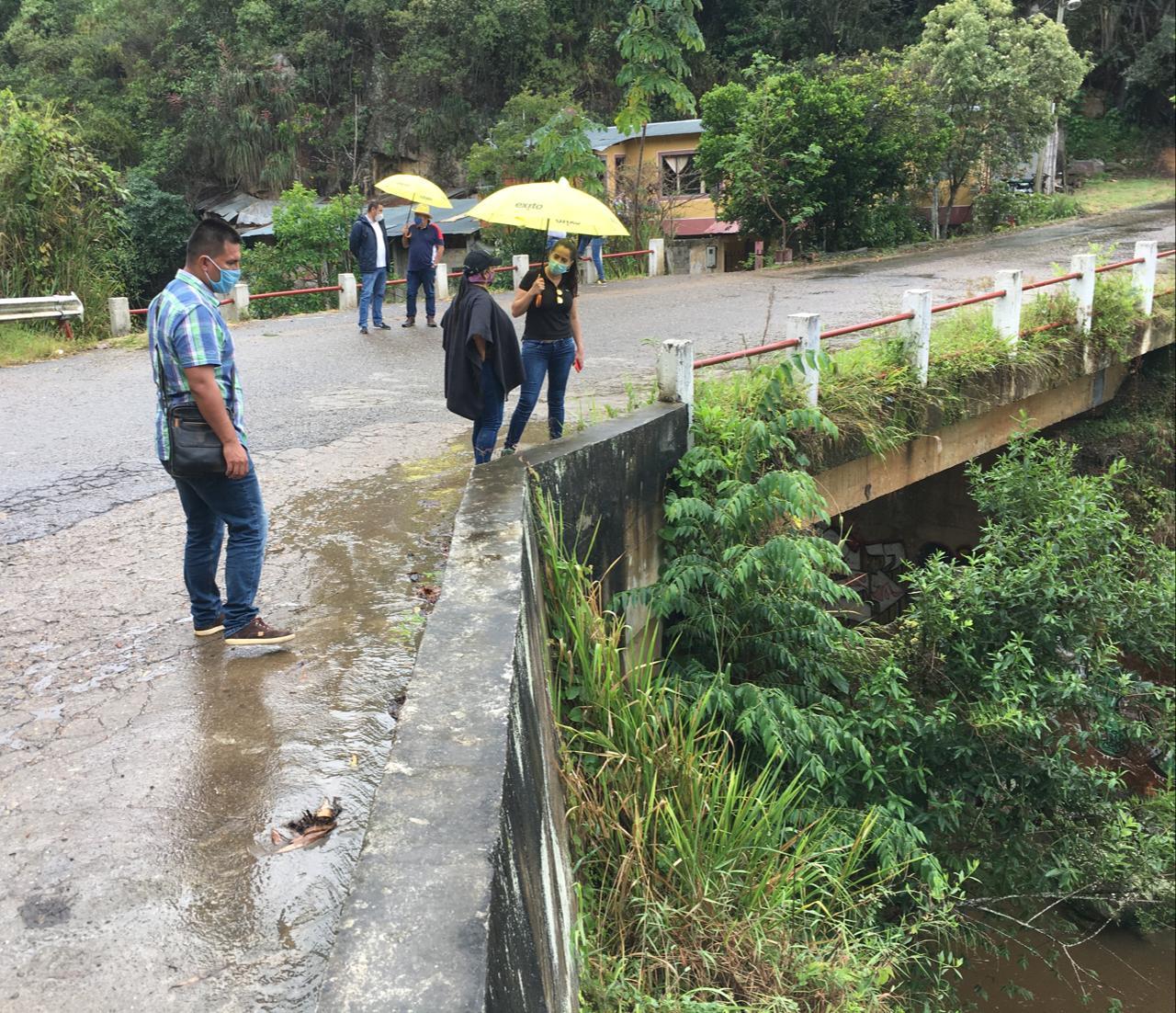 Vías terciarias y puente a la entrada de Icononzo tendrán intervención departamental
