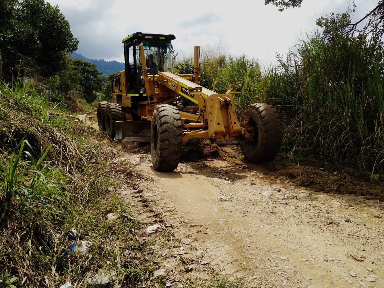 Inicia intervención en la red vial terciaria de Ibagué