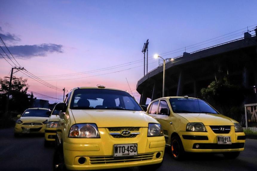 Taxis funcionarán con el 70% de su capacidad en Ibagué