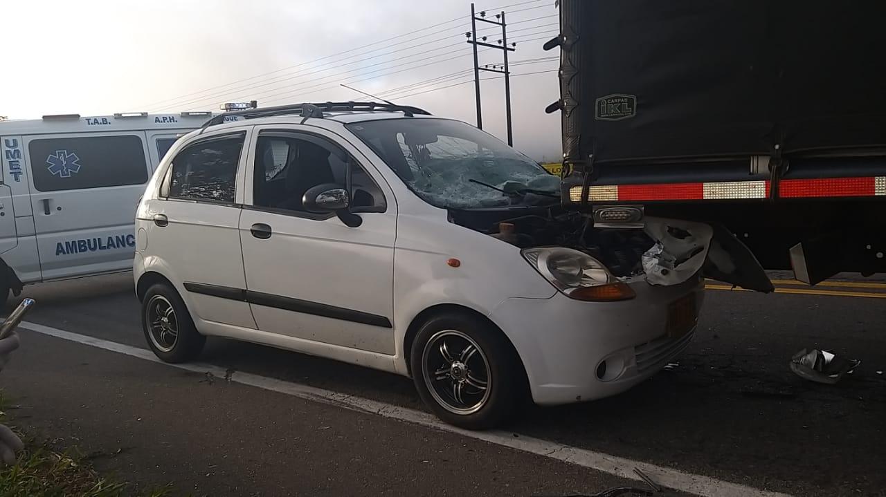 Un herido en choque entre moto, dos autos y una Turbo