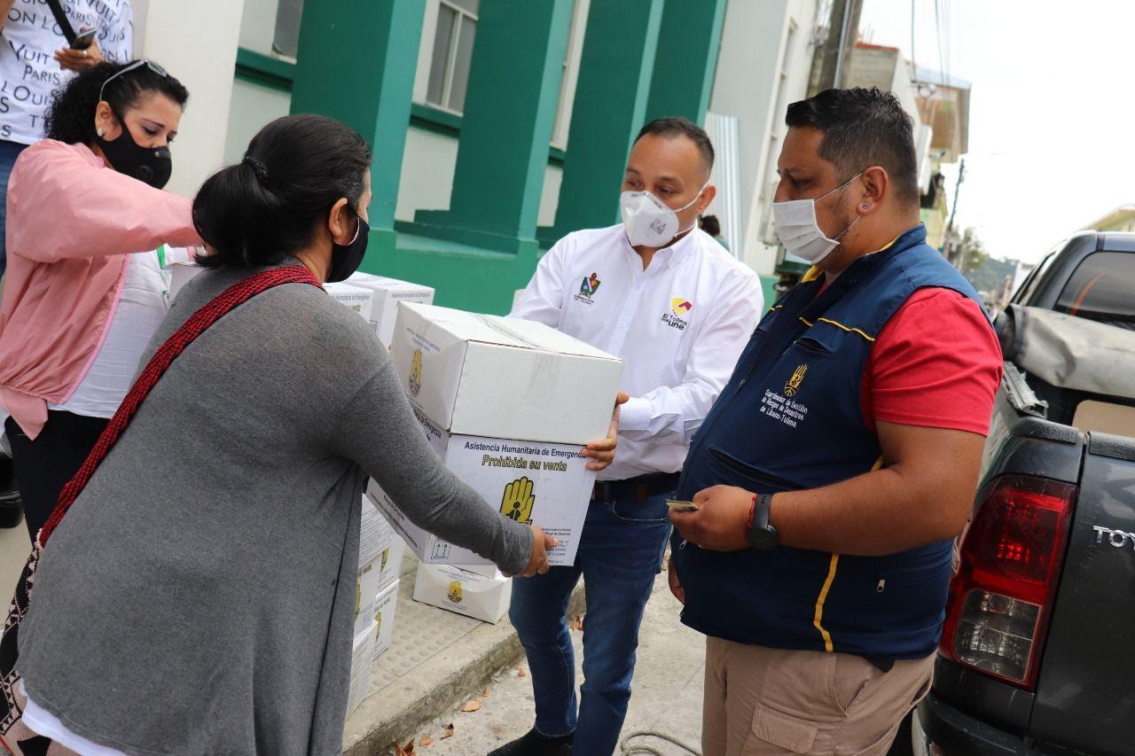 Familias del Líbano afectadas por las emergencias recibieron ayudas