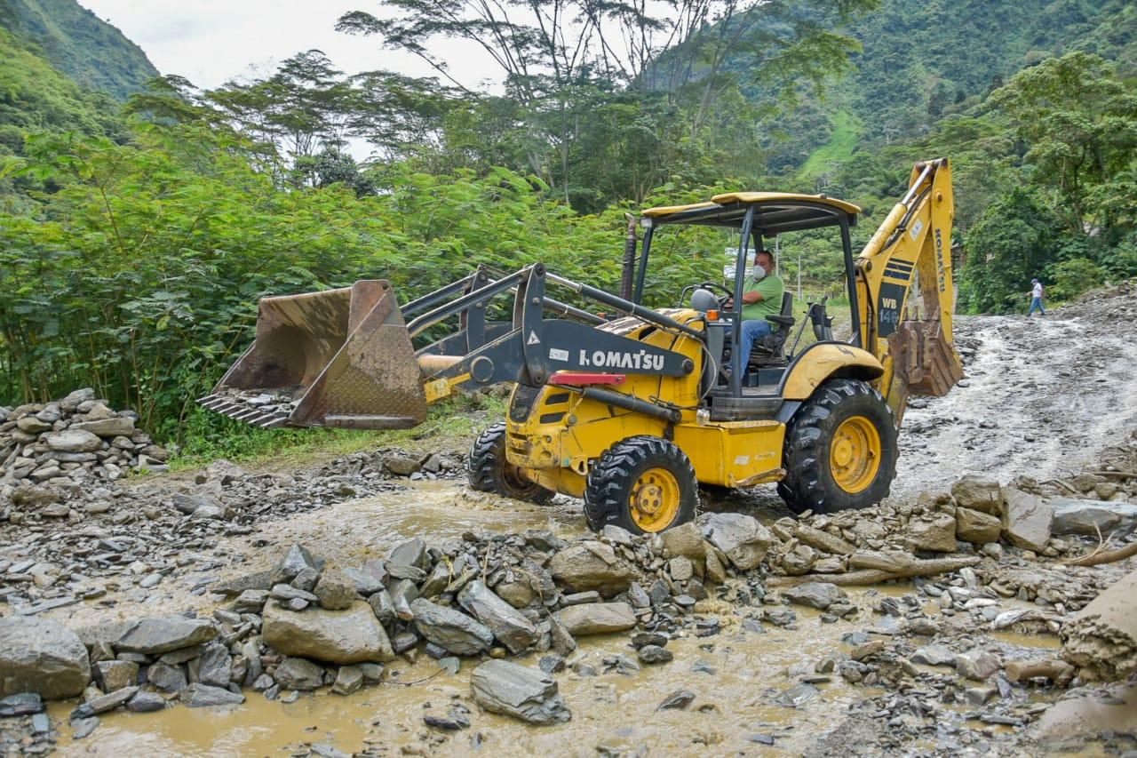 Fotos: Se realizarán obras de mitigación en la quebrada Bellavista, Cañón del Combeima