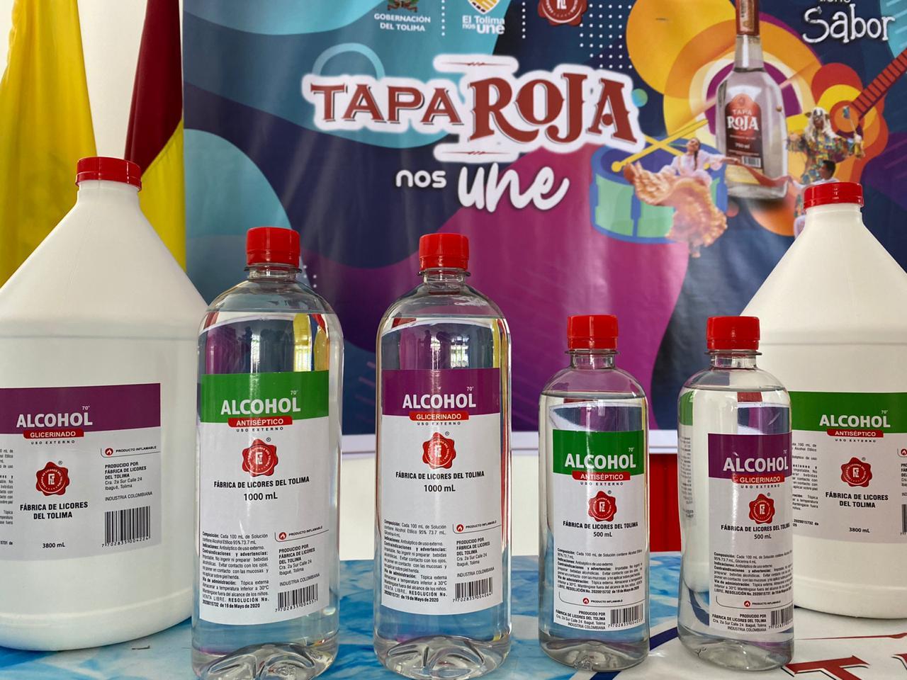 Fábrica de Licores del Tolima hace lanzamiento del alcohol antiséptico y programación de actividades folclóricas