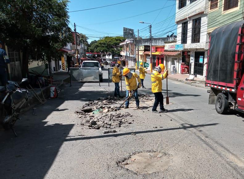 Inicia intervención de más de 40.000 metros cuadrados de vías en Ibagué