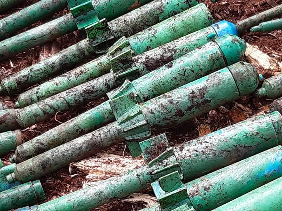 Descubren arsenal de grupo residual en el sur del Tolima