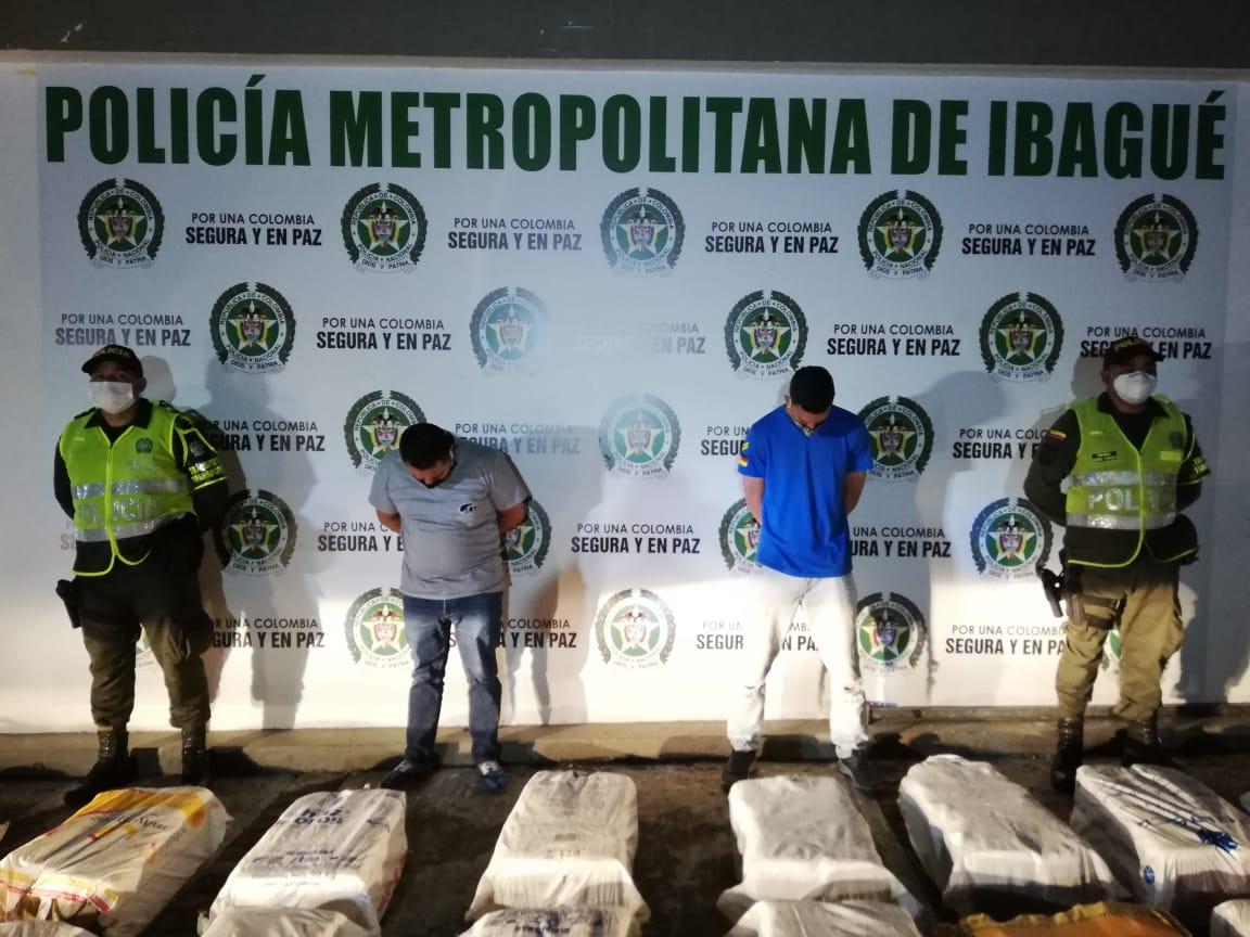 Cárcel para hombres que transportaban más de una tonelada de marihuana