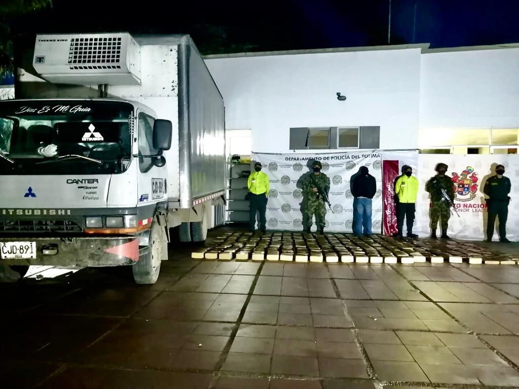 Cayó 'narco-camión' en zona rural de Roncesvalles