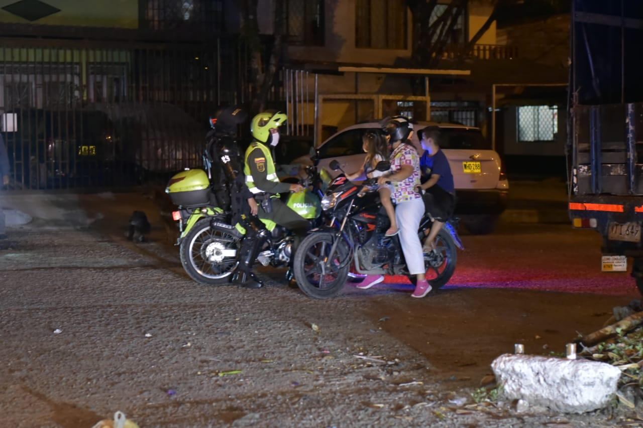 Autoridades intervinieron 489 fiestas y reuniones durante el puente festivo