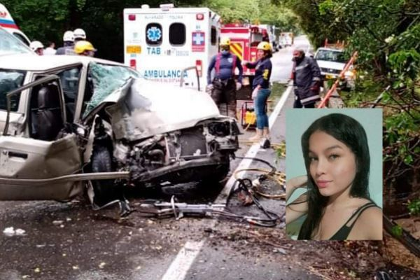 Una joven falleció en accidente entre Alvarado y Venadillo