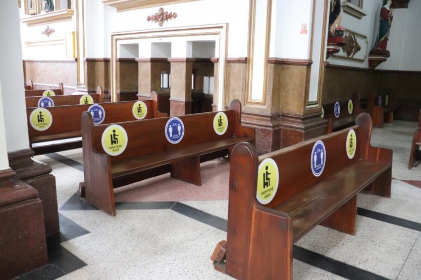 Se aproxima la reapertura de iglesias en medio de la pandemia