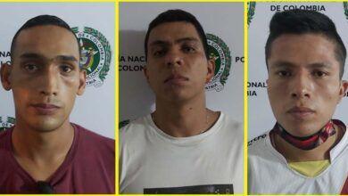 Tres hombres fueron capturados con un cuchillo en intento de atraco a taxista