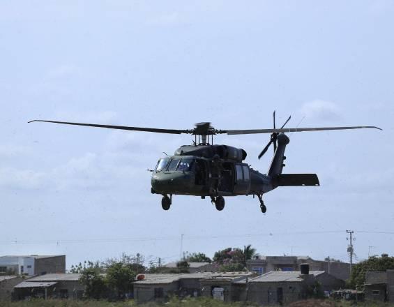 Seis militares heridos y 11 desaparecidos deja caída de helicóptero en el Guaviare