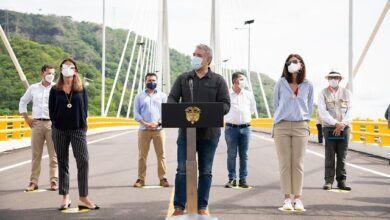 Presidente promete más proyectos 4G en inaguración de puente de Honda y autopista Girardot-Honda-Puerto Salgar
