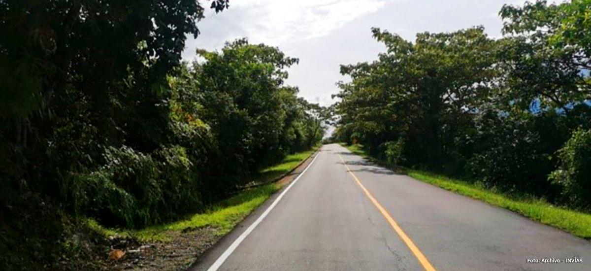 Finalizan obras de mantenimiento en la vía Chaparral – Ortega – Guamo
