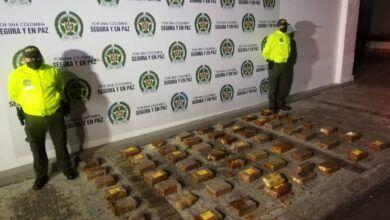 Cayó cargamento de marihuana camuflado en panelas
