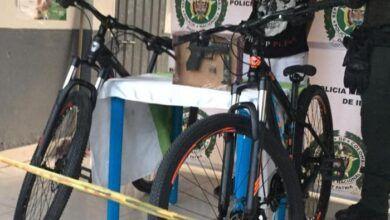 Capturado ladrón de bicicletas en la vía al Aeropuerto Perales