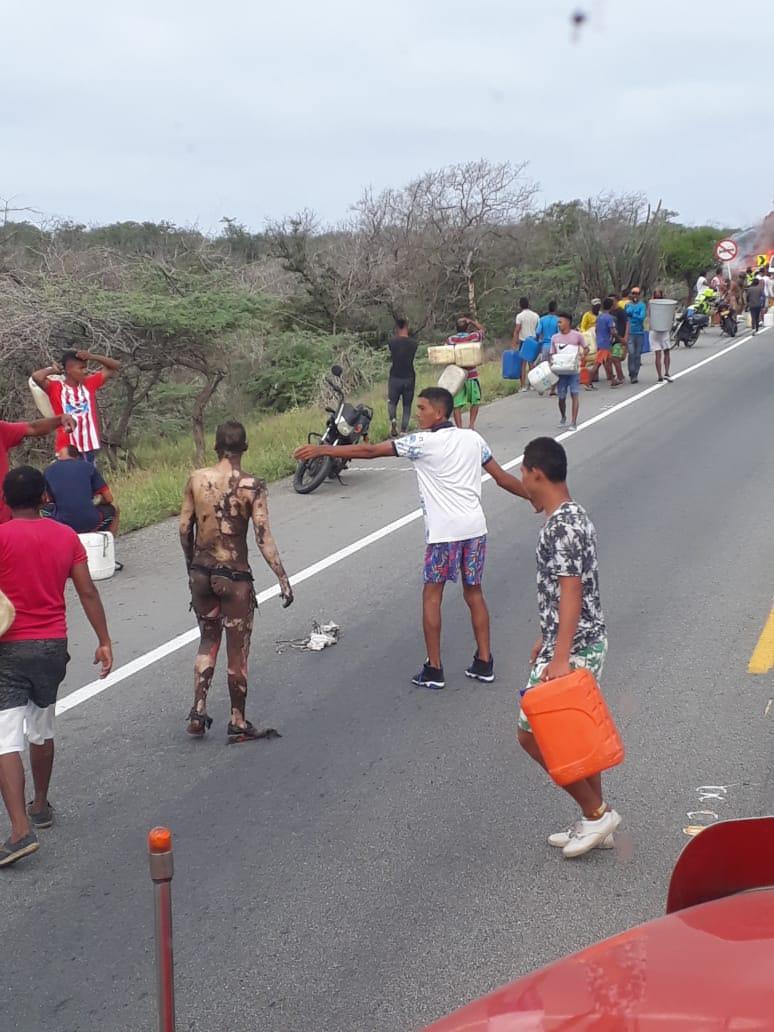 A 21 sube la cifra de fallecidos por explosión de camión con gasolina en la Costa Caribe