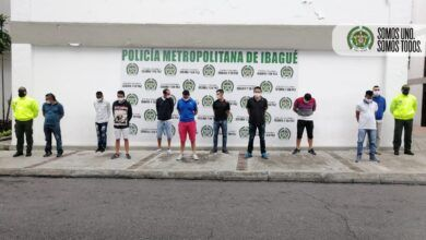 Cayeron 'Los Persas', microtraficantes de la comuna Dos de Ibagué