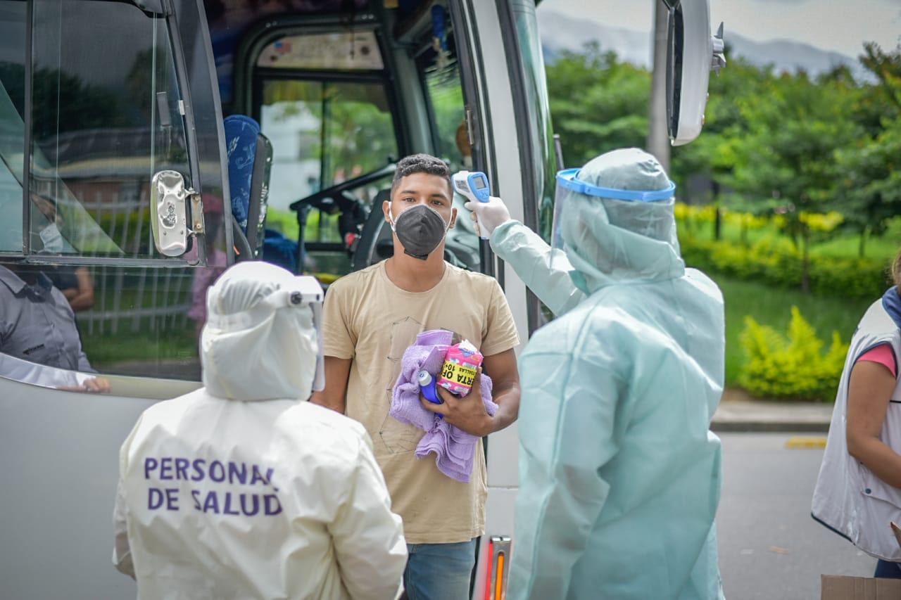 Habilitan nuevo corredor humanitario desde Ibagué para migrantes venezolanos