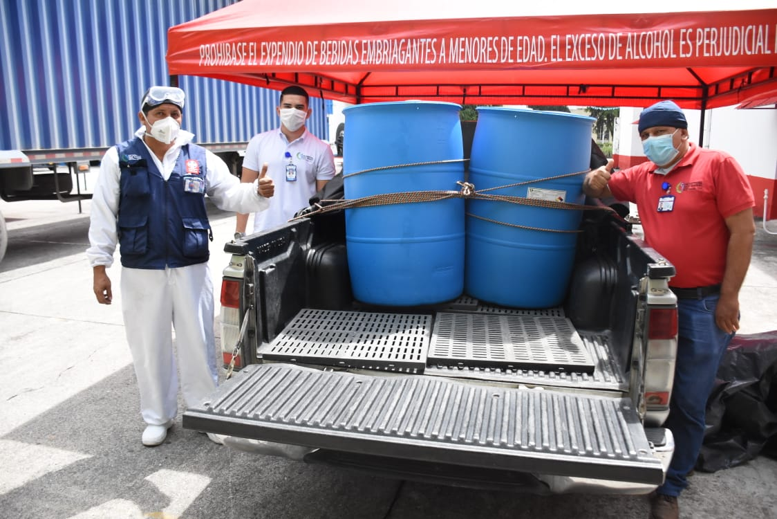 Hospitales públicos del Tolima recibieron alcohol carburante