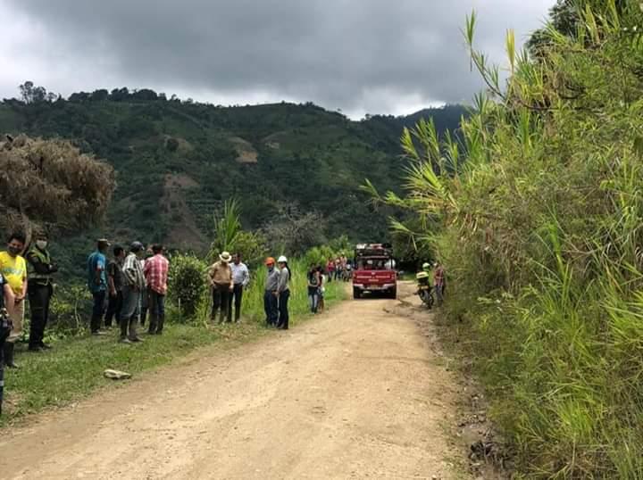 Un muerto y dos heridos en accidente de tránsito en la vía a Tapias