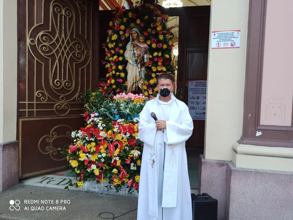 La pandemia destiñó la tradicional celebración del Día de la Virgen del Carmen