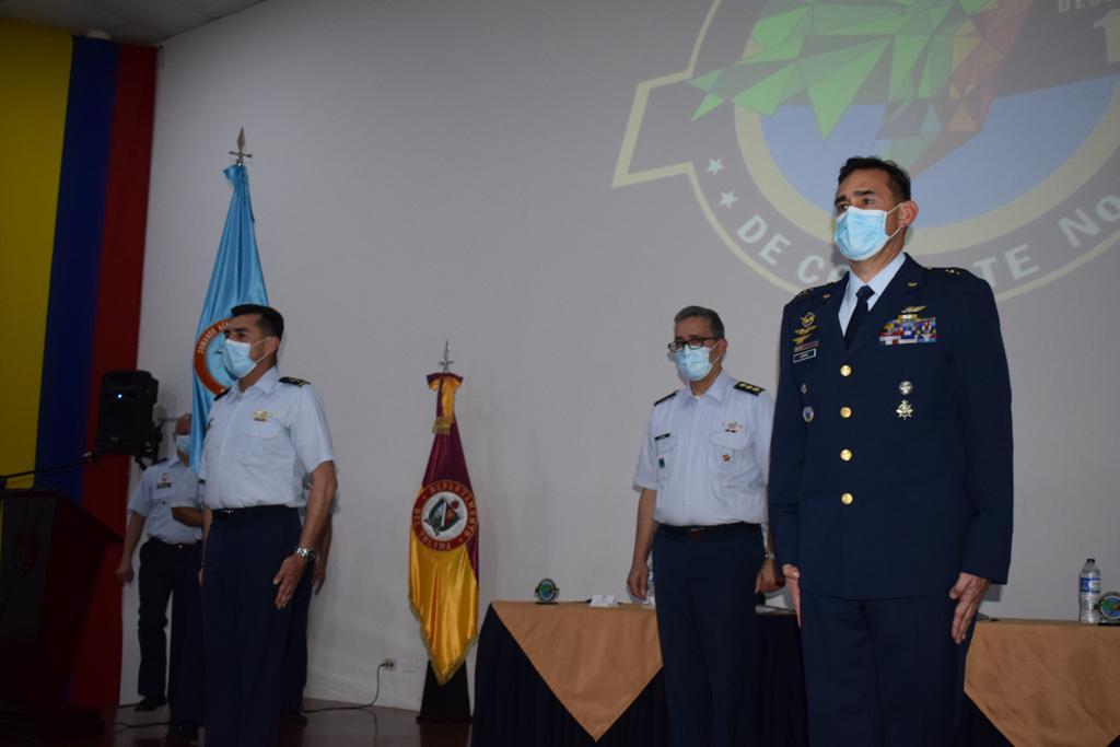 Nuevo comandante en el Cacom 4 de la base de la Fuerza Aérea en Melgar
