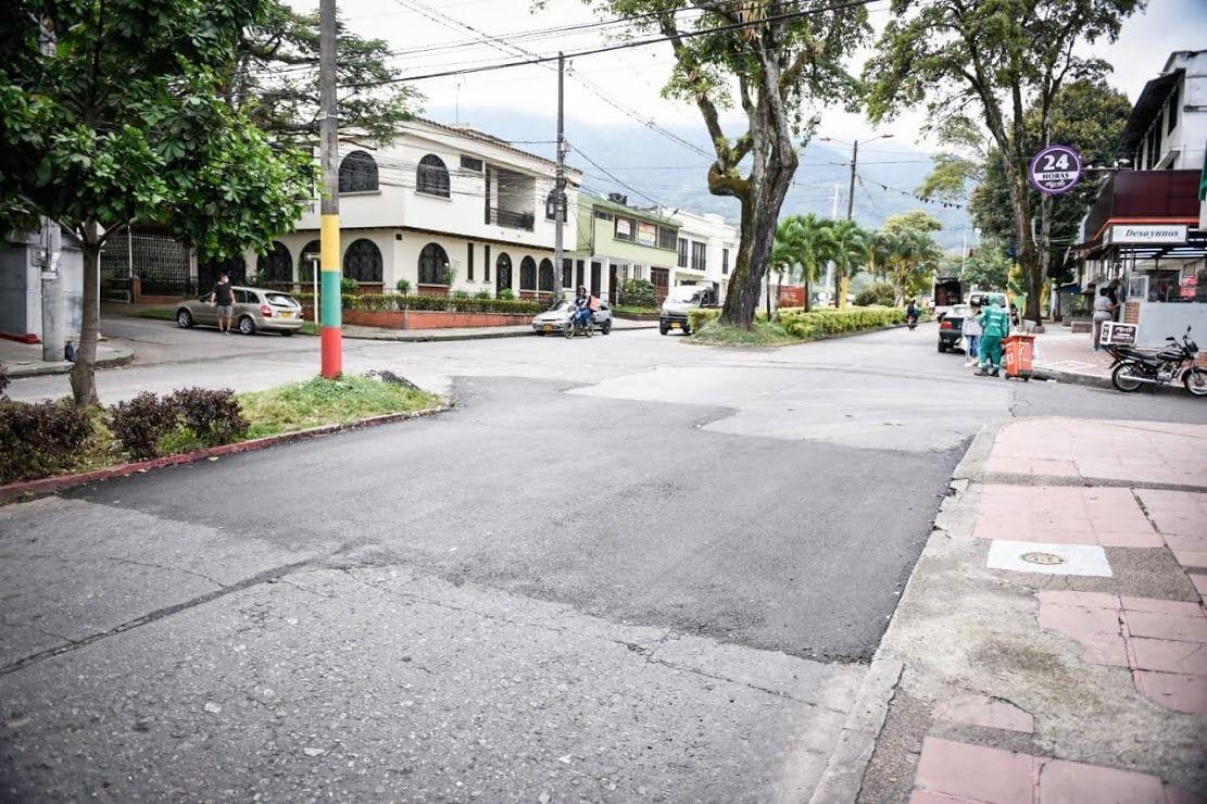 En tiempo récord, la Administración Municipal intervino la carrera Primera de Ibagué