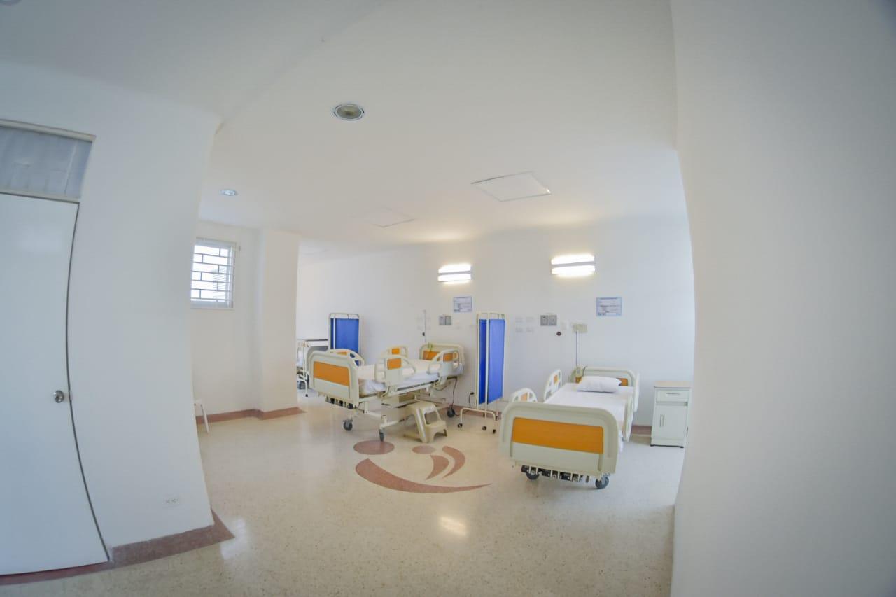 Habilitan área de hospitalización en Unidad de Salud Mental