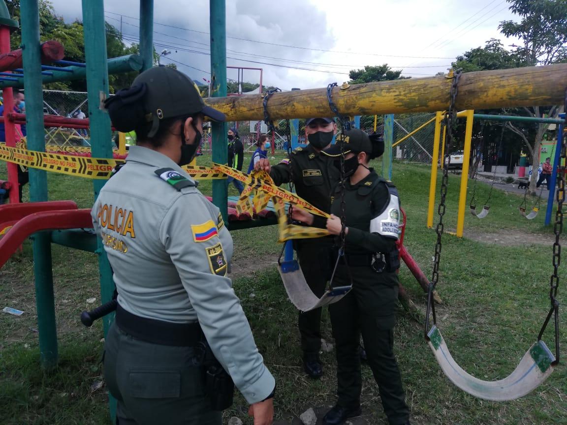 Impusieron 15 comparendos a padres irresponsables durante Operación 'Marcos'