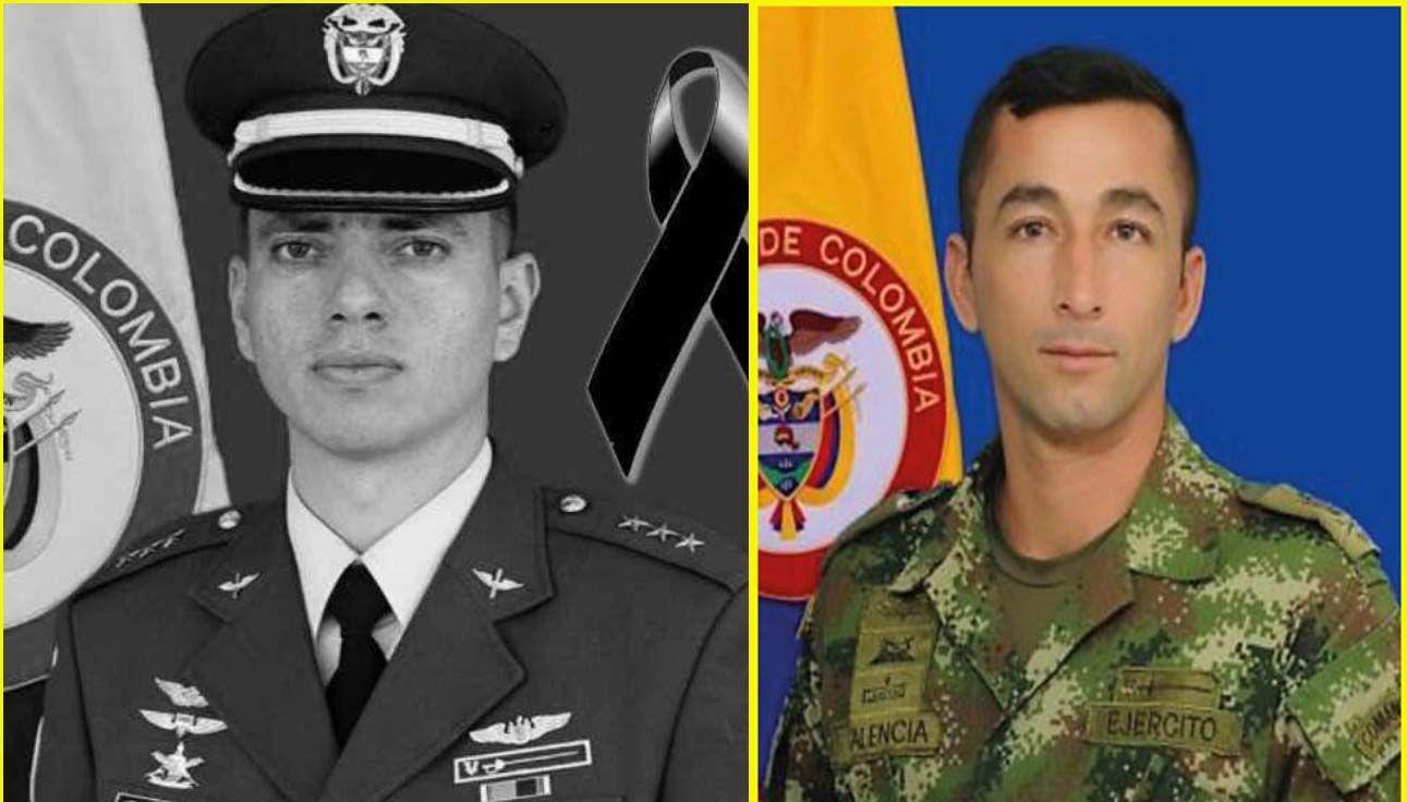 Dos tolimenses murieron en el accidente del helicóptero militar en el Guaviare