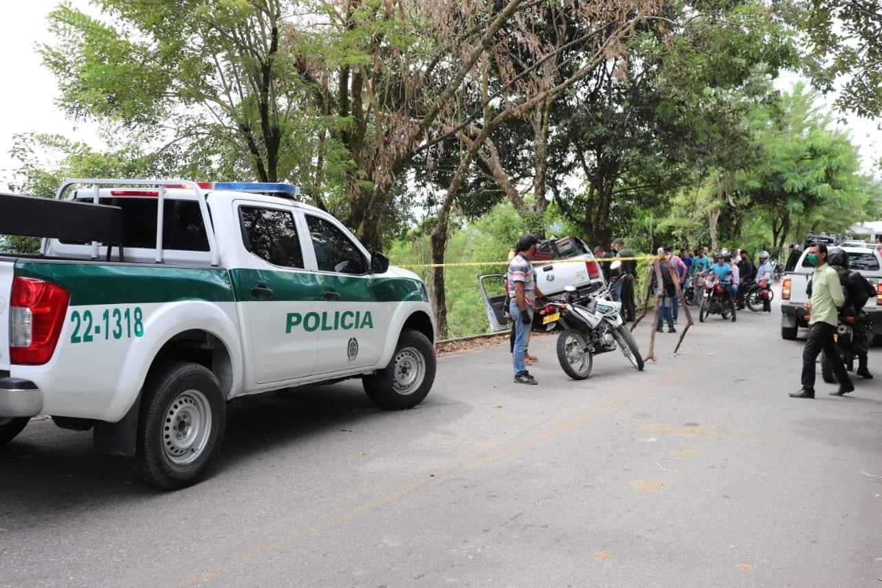 Asesinado de disparos en su cabeza en la vía entre Chaparral y Rioblanco