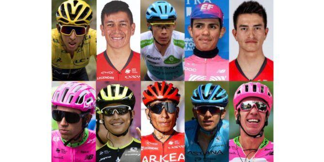 Conozca los 10 colombianos que ya ruedan en el Tour de Francia 2020